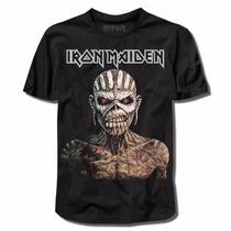 Camiseta Iron Maiden Premium - The Book Of Souls