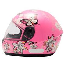 Capacete Peels Spike Butterfly Borboletas Rosa N° 56