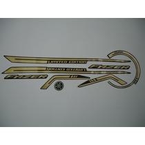 Kit Adesivos Yamaha Fazer Ys 250 Especial 2010 Preta Limited