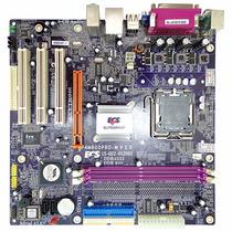 Kit Placa Mãe 775 Ecs P4m800pro-m + Celeron 430 C/ Garantia