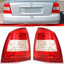 Lanterna Traseira Astra Sedan 98 99 2000 2001 2002 Bicolor