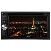 Dvd Player Roadstar 6.2 Duble Din Dvd Usb Sd Tv E Bluetooth