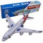 Avião Air Bus A380 De Brinquedo Que Reproduz Som