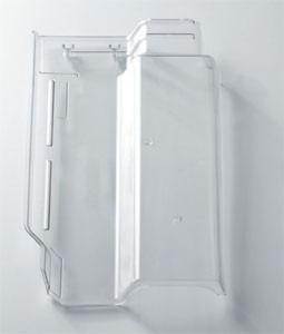 Telha romana policarbonato transparente