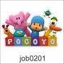 Adesivo Decorativo De Parede Infantil Pocoyo Desenho Job0201
