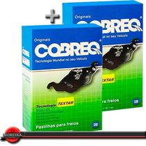 Kit Pastilha Freio Dianteira + Traseira Corolla 02/08 Cobreq