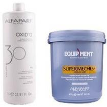 Alfaparf Supermeches Pó Descolorante High Lift 400g E Ox 30v