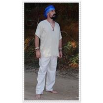 Bata E Calça Modelo Indiano - Hippie Inverno