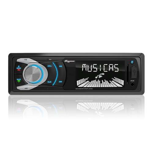 Mp3 Automotivo Quatro Rodas Bluetooth, Vivavoz, Usb, Sd, Aux