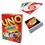 Jogo De Cartas Uno Fast - Mattel - Original / Lacrado