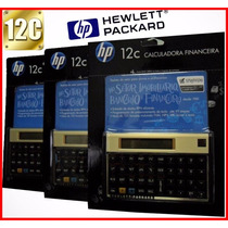 Calculadora Hp 12c Financeira Gold Original Pronta Entrega