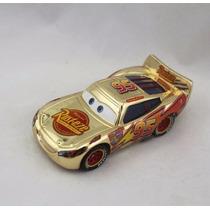 Disney Cars Gold Lightning Mcqueen Original Mattel Loose