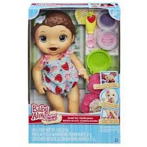 Baby Alive Lanchinho Divertido Morena Ref.:b5015