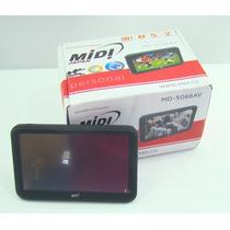 Gps Midi Md-5066av Com Tv Digital E Câmera De Ré