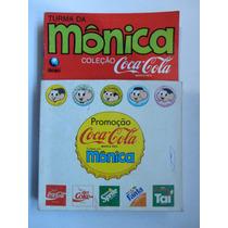 Turma Da Mônica Coleção Coca-cola 5 Gibis Com A Caixa