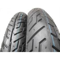 Pneu Pirelli 100/90-18 + 2.75-18 Mt65 S/câmara Cg/cbx200/ybr