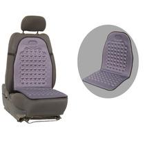Assento Massageador Carro Encosto Automotivo Universal Cinza