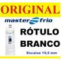 Filtro Refil Masterfrio Original Rótulo Branco Master Frio