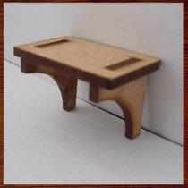 Prateleira - Miniaturas Decorativas Em Mdf Mini Móveis