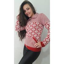 Blusa Em Trico Blusa Feminina Roupa De Frio