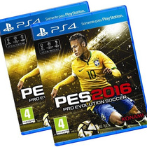 Pro Evolution Soccer 2016 Mídia Física Pes2016 Português Ps4