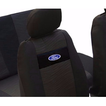 Jogo De Capas Banco Carro - Tecido Original Com Logo Ford