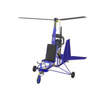 Projeto Girocóptero Ultraleve Trike Rotax