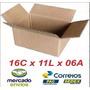 100 Caixas De Papelão Para Correios Sedex E Pac 16x11x6 Cm