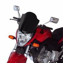 Para-brisa Bolha Honda Cb300 Fumê Motovisor