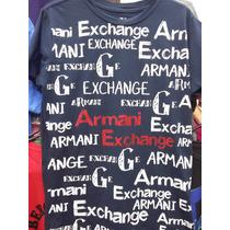 Camisetas Masculina Armani Exchange