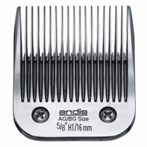 Lâmina 5/8 Ht, Andis Ultraedge 16 Mm, Tosa Profissional Cães