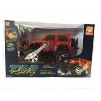 Jeep Tx-8 Rally - Vermelho - Silmar Brinquedos
