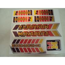 Adesivo Monareta 82 Metalizado