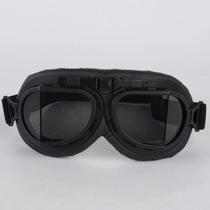 Óculos Motociclista Goggle Aviador Vintage Old School Retro