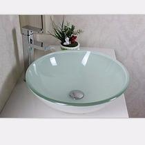 Cuba De Vidro Vermelha, Preta, Branca 42 X 42 Banheiro