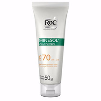 Roc Minesol Oil Control Fps70 50g Gel Controle Da Oleosidade
