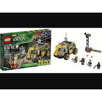 Lego Tartarugas Ninjas Turtles Van Takedown 79115 Educativo