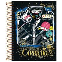Caderno Univ Capricho 200 Folhas10 Matérias Tilibra