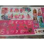 Adesivo Para Quadro Infantil Barbie Frete Gratis