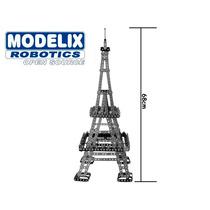 Brinquedo De Montar Modelix 620 Torre Eiffel Média