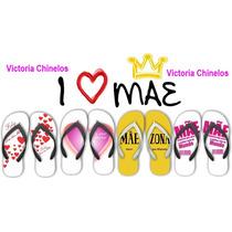 Chinelos Personalizados Dia Das Mães