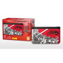 Nintendo 3ds Xl Super Smash Bros Edition Vermelho Garantia