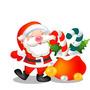 Fantasia De Papai Noel Tamanho Adulto Roupa Para Natal A88