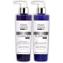 Anna Haven Platinum Touch (kit Shampoo + Máscara)