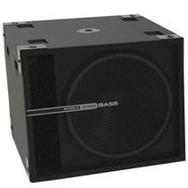 Subwoofer Amplificado 18 Pol 1500w Studio R Sky Sound Bass 1