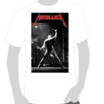Camisetas Camisas - Metallica Poster Show - Rock And Roll
