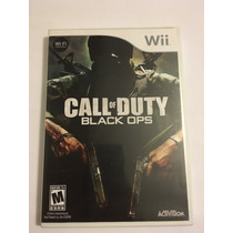 Call Of Duty Black Ops Nintendo Wii Americano Completo