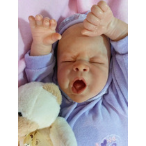 Bebê Reborn, Bocejando! Pronta Entrega!!!