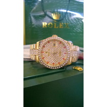Rolex Datejust Gold Diamante President