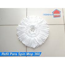 360 Refil Avulso Para Balde Rodo Mágico Spin Mop 360 An Go